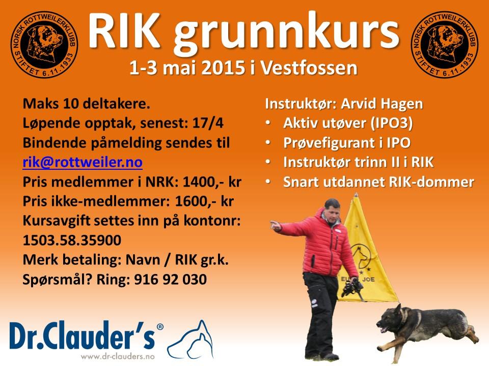 RIK grunnkurs 2015 05 01