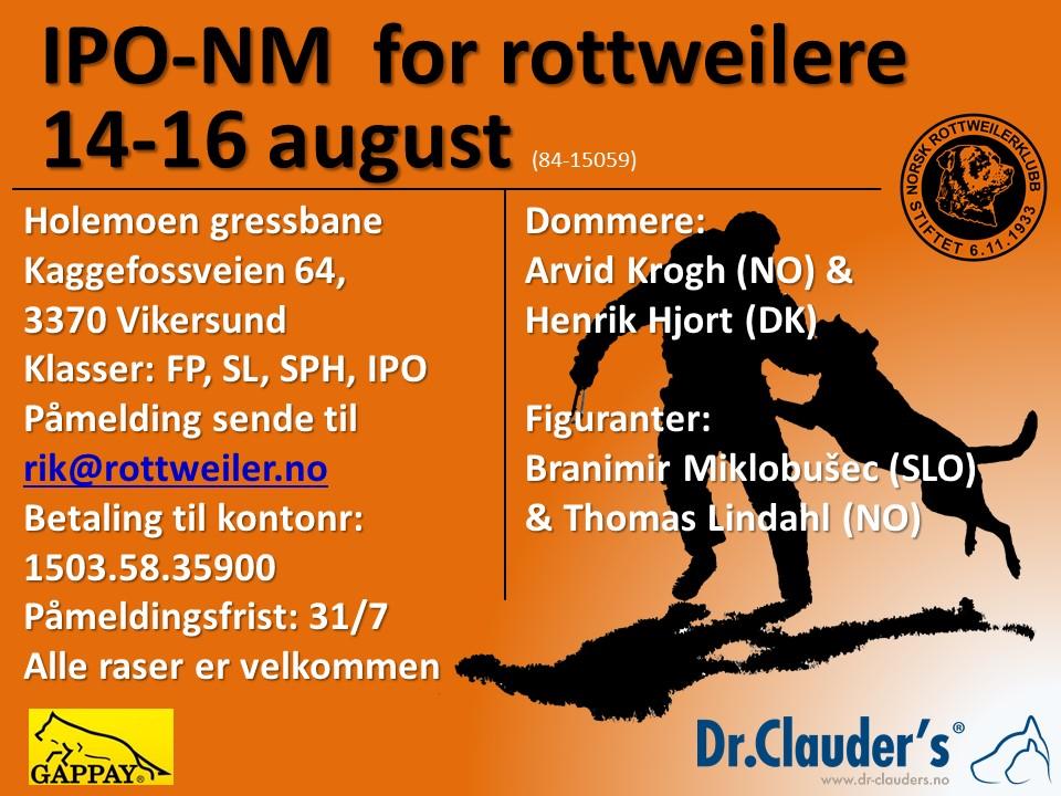 Plakat IPO-NM 2015