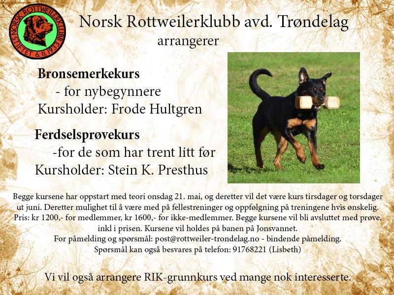NRK Trøndelag kurs mai